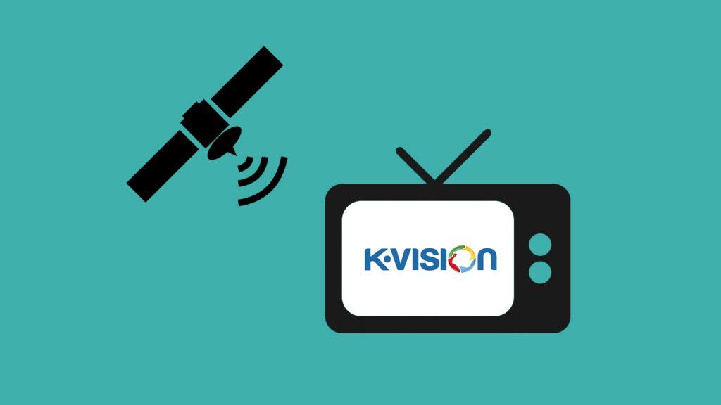 Frekuensi K Vision di Measat 3a dan Palapa D