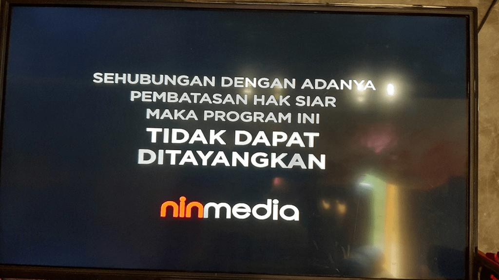 pembatasan hak siar motoGP di Ninmedia