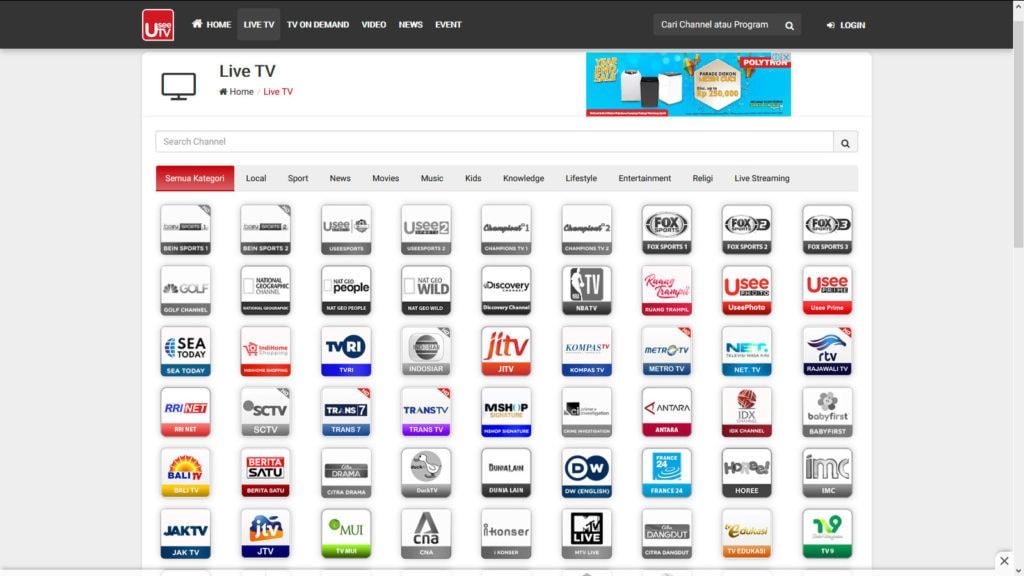 cara menyaksikan siaran TV yang sudah lewat tanpa internet