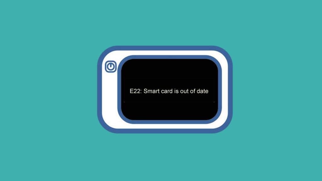 Cara Mengatasi E22: Smart Card Is Out of Date